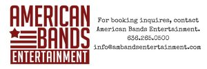 American Bands Entertainment Logo and Contact Info